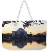 Dawn Over Jefferson Memorial Weekender Tote Bag