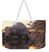 Dawn Over The Jefferson Memorial Weekender Tote Bag