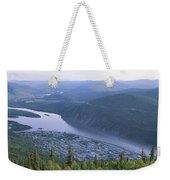 Dawson City And The Yukon River Weekender Tote Bag