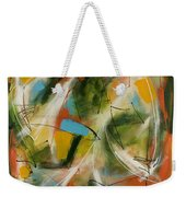Day And Night Two Weekender Tote Bag