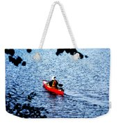 Day On The Lake Weekender Tote Bag