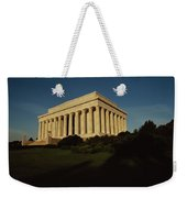 Daytime View Of The Lincoln Memorial Weekender Tote Bag