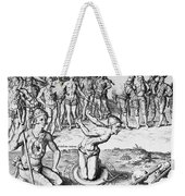 De Bry: Magician, 1591 Weekender Tote Bag