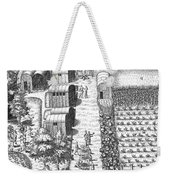 De Bry: Secoton Village Weekender Tote Bag