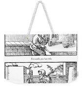 De Re Metallica, Cupellation Furnaces Weekender Tote Bag