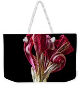 Dead Dried Tulip Weekender Tote Bag