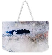 Dead Sea From Space Weekender Tote Bag by NASA / Science Source