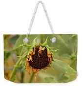 Dead Sunflower Weekender Tote Bag