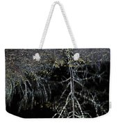 Dead Tree Reflects In Black Water Weekender Tote Bag