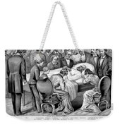 Death Of Garfield, 1881 Weekender Tote Bag