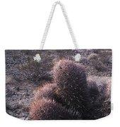 Death Valley Cactus Weekender Tote Bag