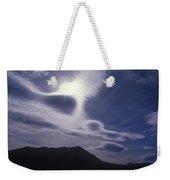 Death Valley Clouds Weekender Tote Bag