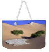 Death Valley Salt Flat Weekender Tote Bag