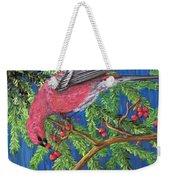 December Berries Weekender Tote Bag