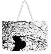 December Raven Weekender Tote Bag