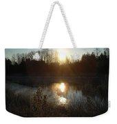December Sunrise Off Smooth Water Weekender Tote Bag