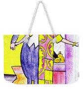 Deco Couple With Vase Weekender Tote Bag