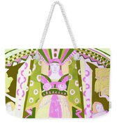 Deco Ladies Frostwork And Iris Weekender Tote Bag