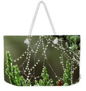 Decorated Bush Quogue Wildlife Preserve Weekender Tote Bag