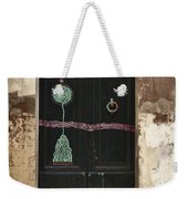 Decorated Door Weekender Tote Bag