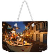 Decorated Fishing Boats Weekender Tote Bag
