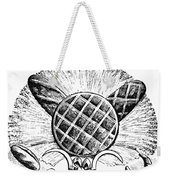 Decorative Cut: Bread Weekender Tote Bag