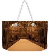 Decorative Dining Weekender Tote Bag