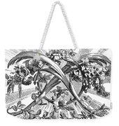 Decorative Engraving Weekender Tote Bag