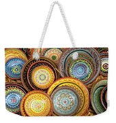 Decorative Plates Provence France Weekender Tote Bag