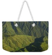 Deep Canyons Drain To Rio Apurimac Weekender Tote Bag
