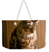 Deep In Kitty Thought Weekender Tote Bag
