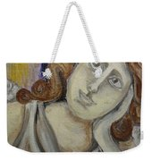 Deep In Thought Weekender Tote Bag