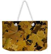 Deep Leaves Weekender Tote Bag