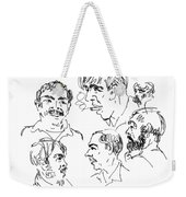 Deepfreeze-s.pole-art6 Weekender Tote Bag