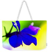 Deeply Blue Weekender Tote Bag by Marie Jamieson