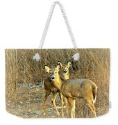 Deer Duo Weekender Tote Bag