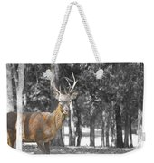 Deer In The Forest  Weekender Tote Bag