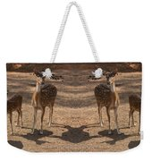 Deer Symmetry  Weekender Tote Bag
