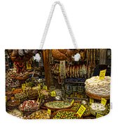 Deli In Palma De Mallorca Spain Weekender Tote Bag by David Smith