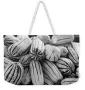 Delicata Winter Squash In Black Weekender Tote Bag