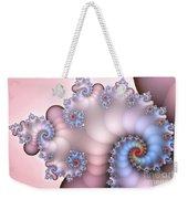 Delicate Blush Weekender Tote Bag