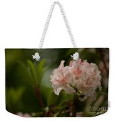 Delicately Peach Weekender Tote Bag