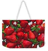 Deliciously Sweet Strawberries Weekender Tote Bag