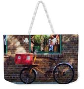 Delivery Bicycle Greenwich Village Weekender Tote Bag