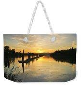 Delta Sunset Weekender Tote Bag