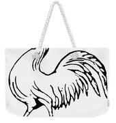 Democratic Rooster, 1840 Weekender Tote Bag