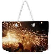 Demon Sparking Weekender Tote Bag