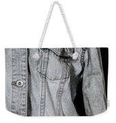 Denim Jacket Weekender Tote Bag by Joana Kruse