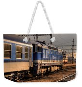 Departing Into The Sunset  Weekender Tote Bag