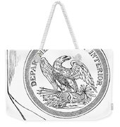 Department Of The Interior Weekender Tote Bag